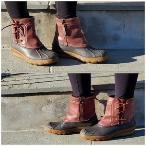 Sperry Saltwater Wedge Boots